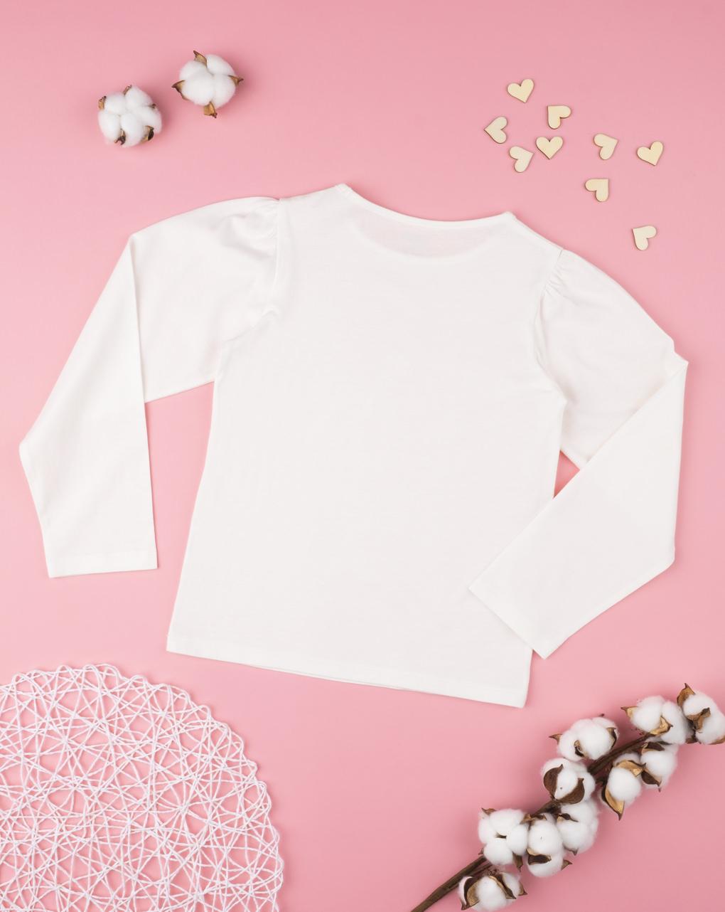 """T-shirt girl maniche a """"palloncino"""" - Prénatal"""