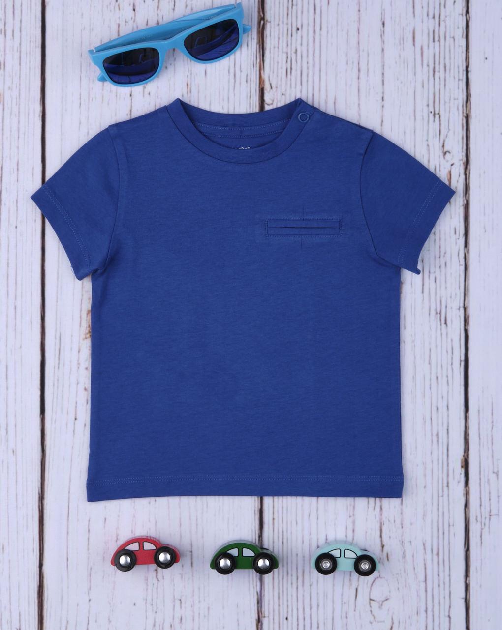 T-shirt boy blue - Prénatal