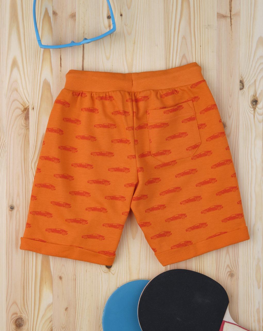"Shorts bimbo ""orange machine"" - Prénatal"