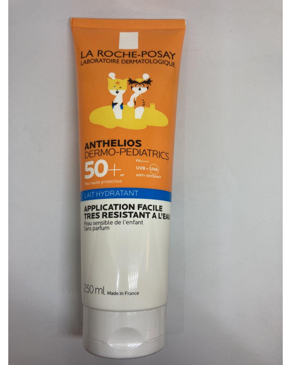 Solare la roche posay anthelios dermo-pediatrics lait hydratant 50+ 250ml - La Roche Posay