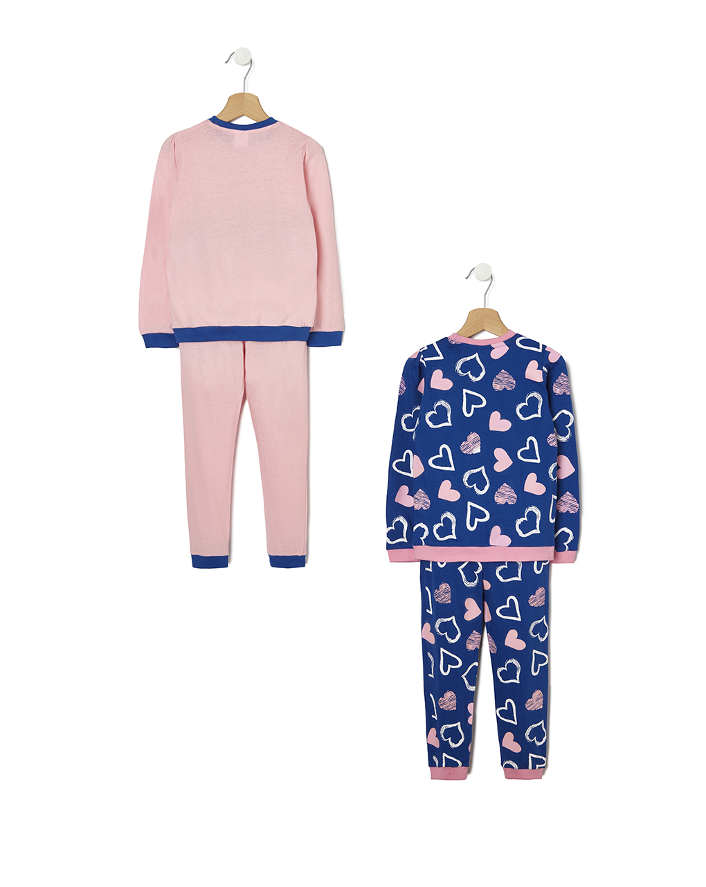 Pack 2 pigiami con stampa cuore - Prénatal