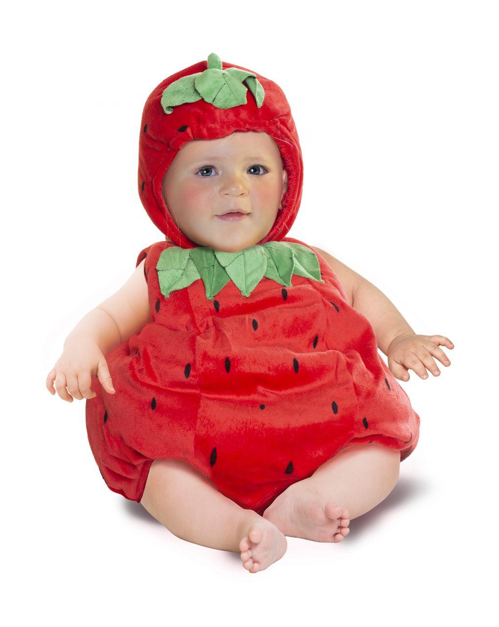 Costume fragolina baby 12 mesi - Carnaval Queen