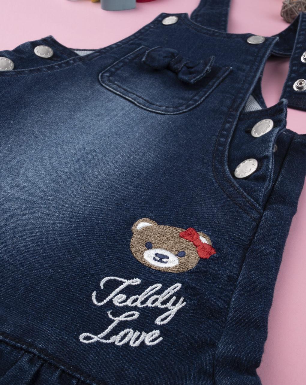 """Scamiciato jeans girl """"teddy love"""" - Prénatal"""