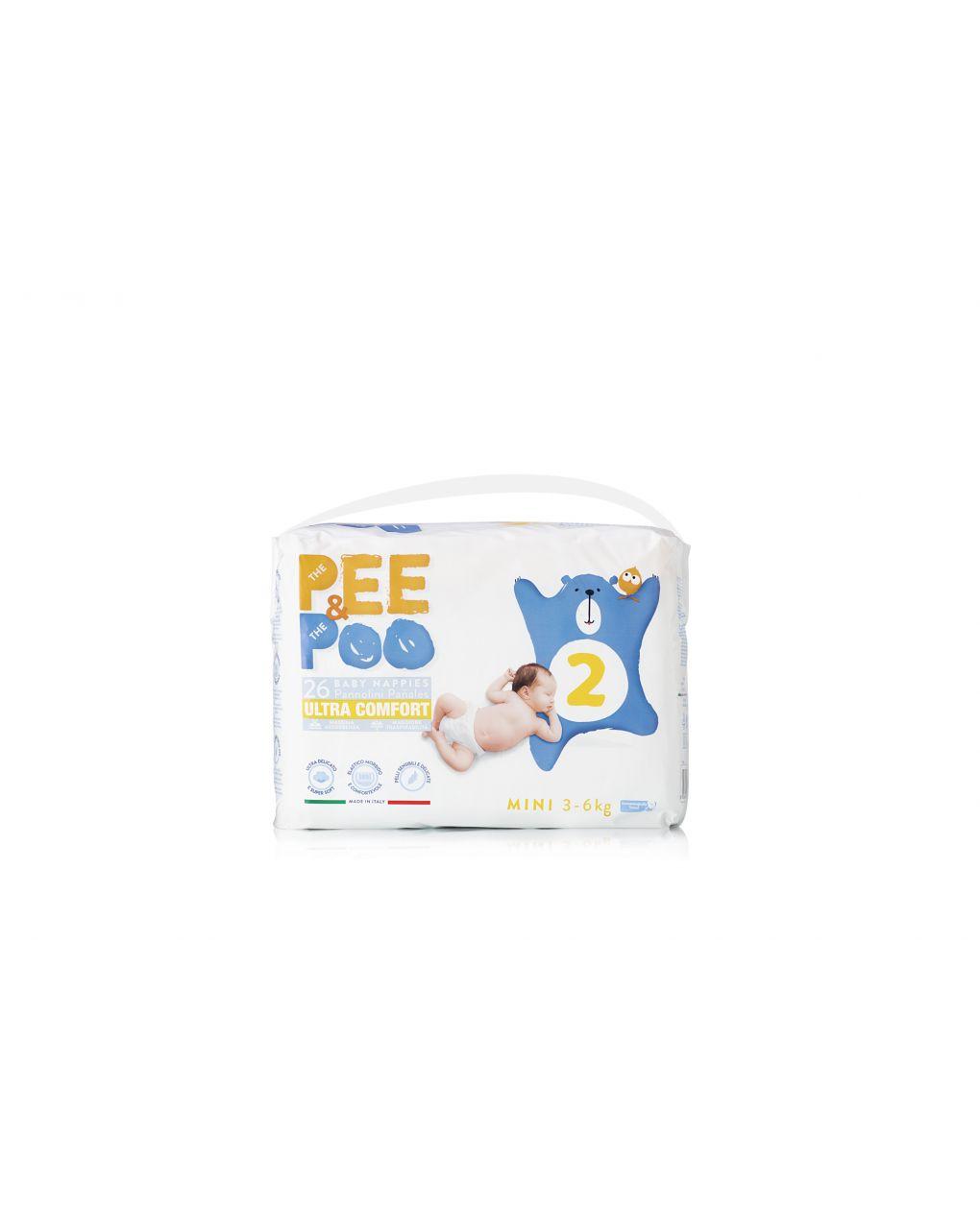 Pee&poo - mini tg 2 26 pz - The Pee & The Poo