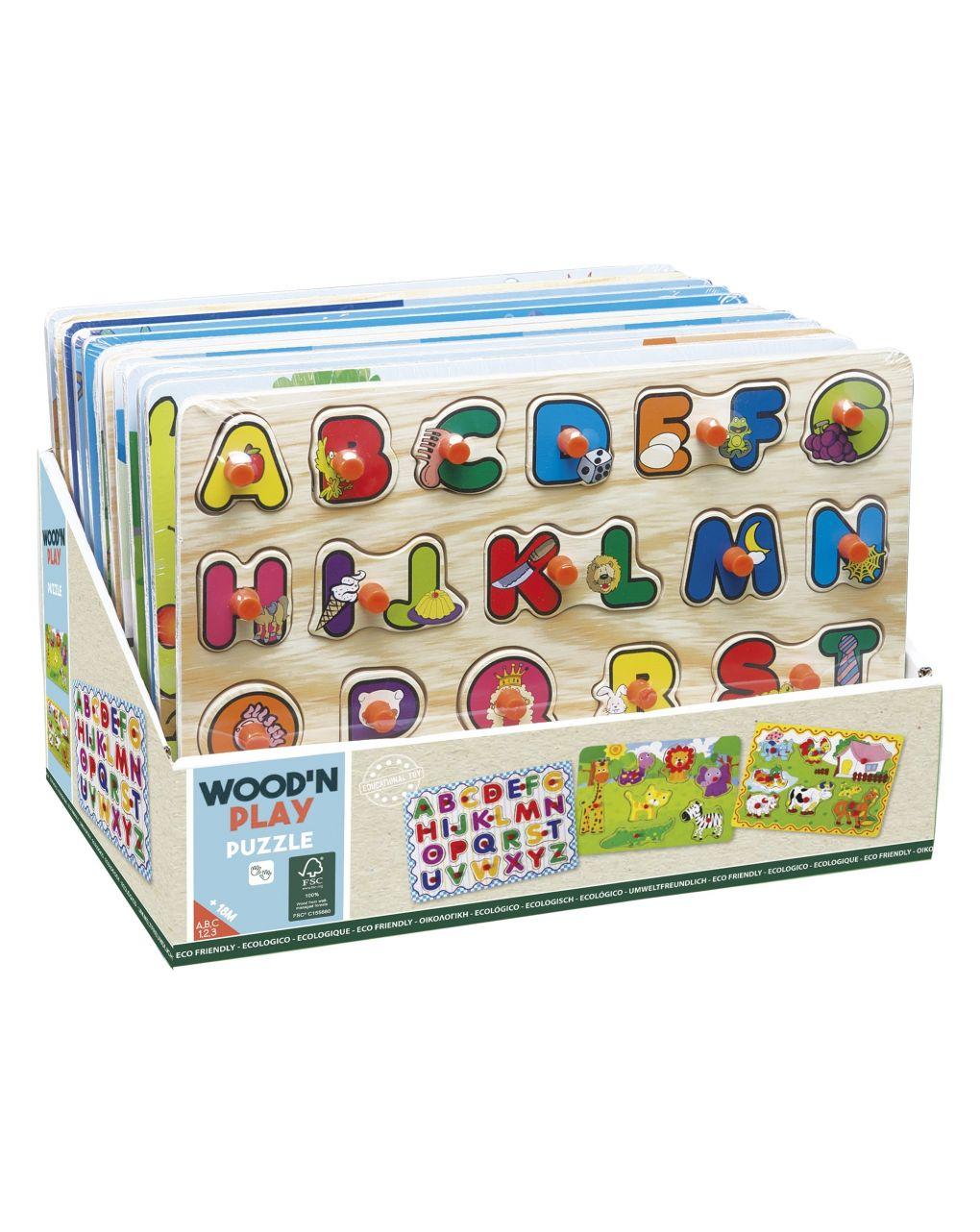 Wood'n'play - puzzle - Wood'N'Play