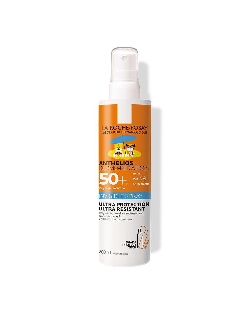 Solare la roche posay anthelios dermo-pediatrics spray 50+ 200 ml - La Roche Posay