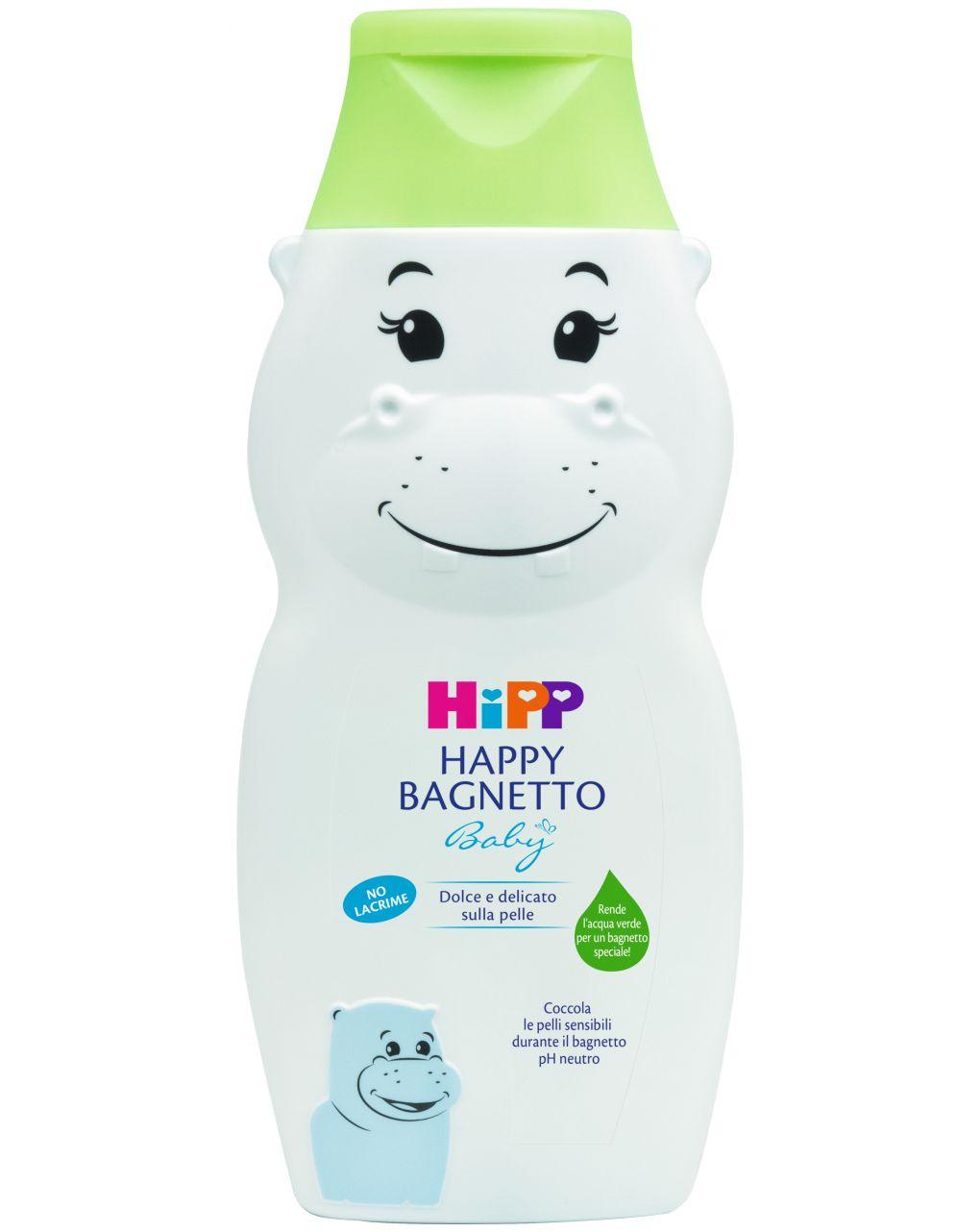 Happy bagnetto ippopotamo 300 ml - Hipp Baby