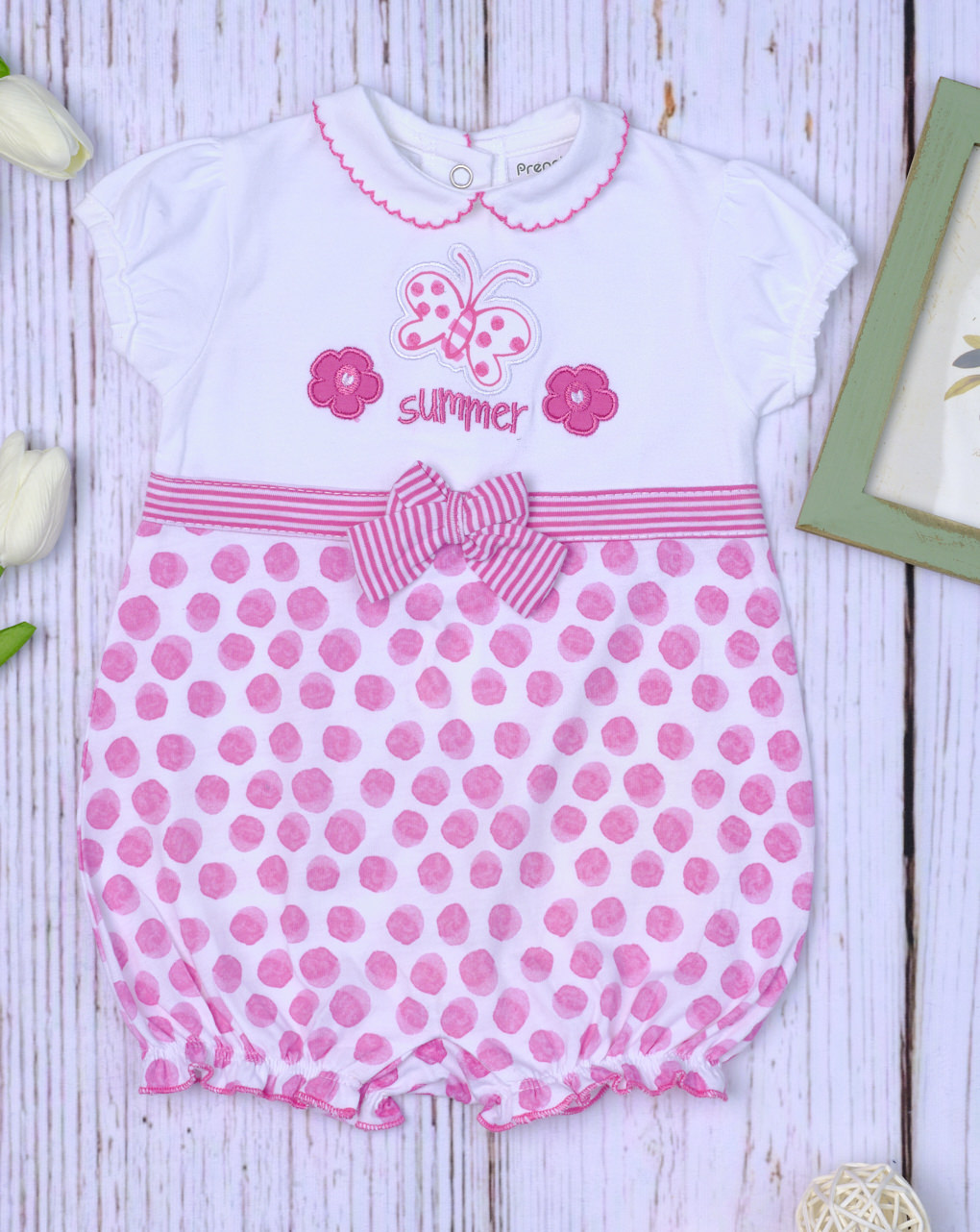 """Pagliaccetto jersey pois """"summer"""" - Essential by Prénatal"""