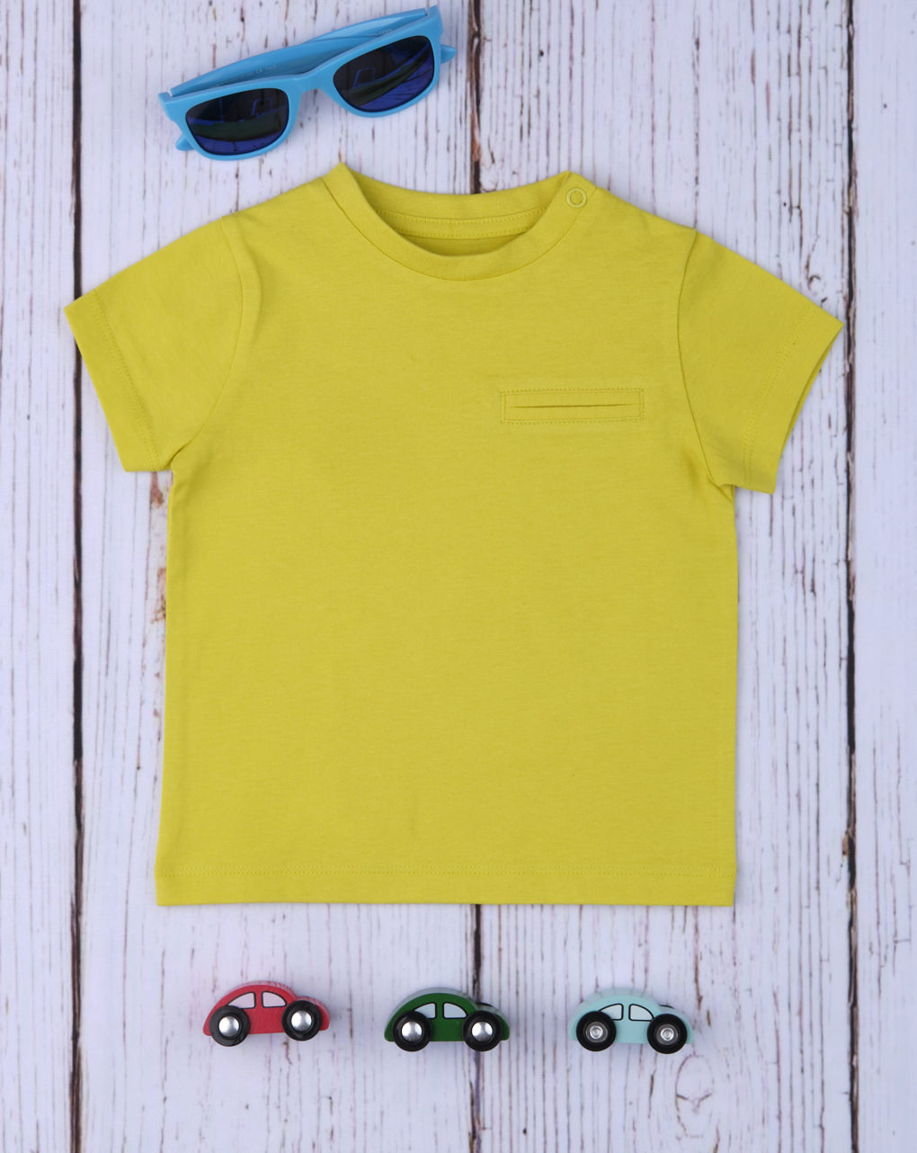 T-shirt boy yellow - Prénatal