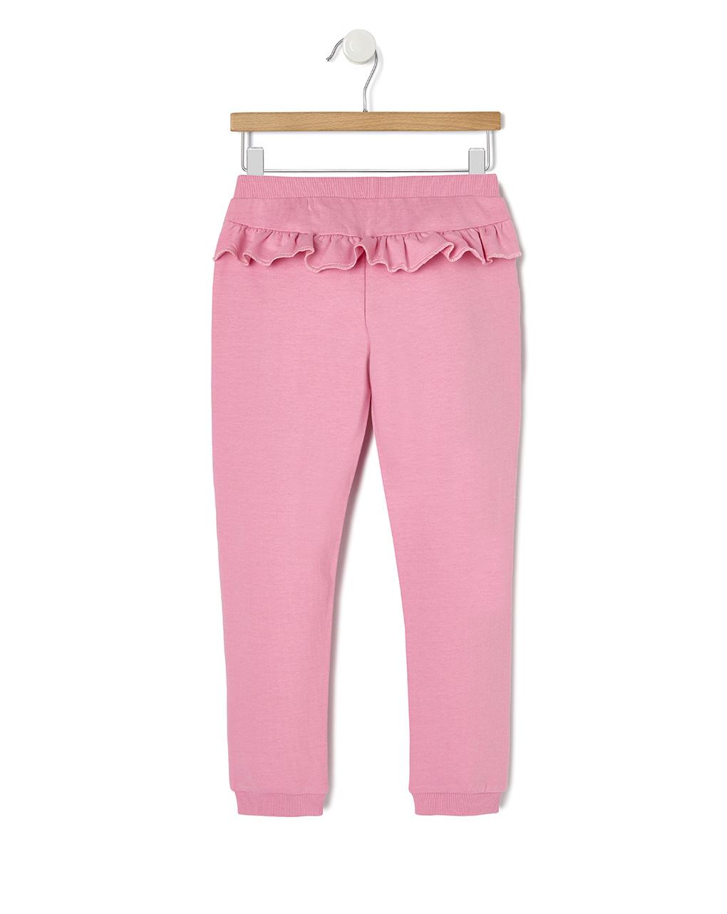 Pantalne in felpa con rouches e stampa glitter - Prénatal