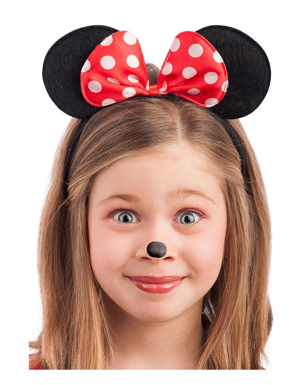 Cerchietto topolina con fiocco a pois - Carnival Toys