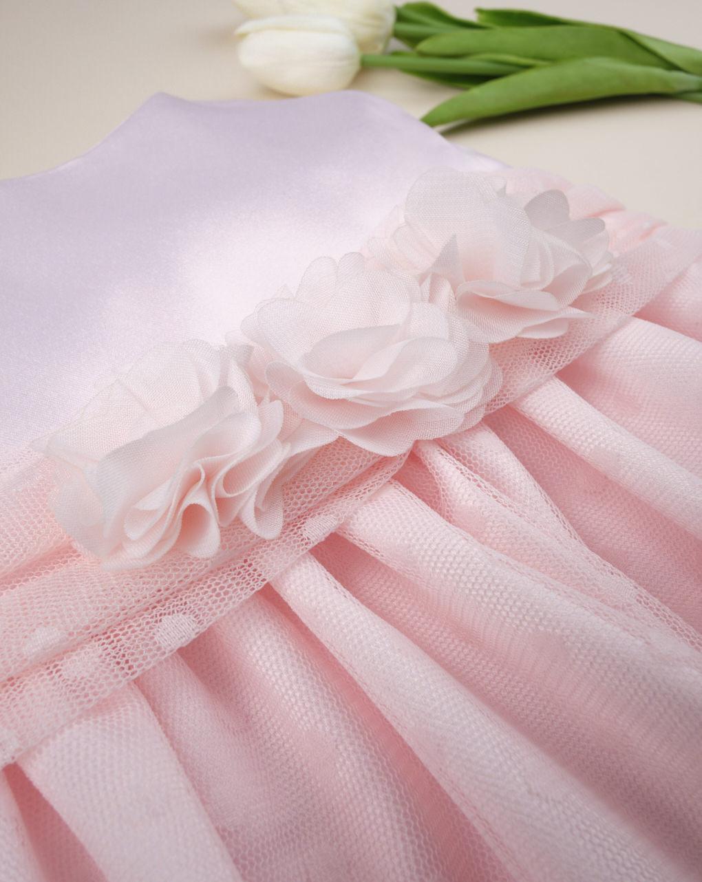 "Abito da cerimonia bimba ""rosa confetto"" - Prénatal"