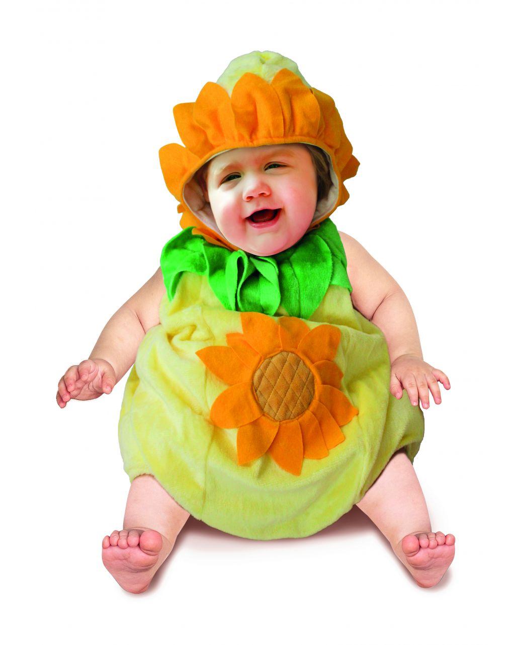 Costume girasole baby 12 mesi - Carnaval Queen