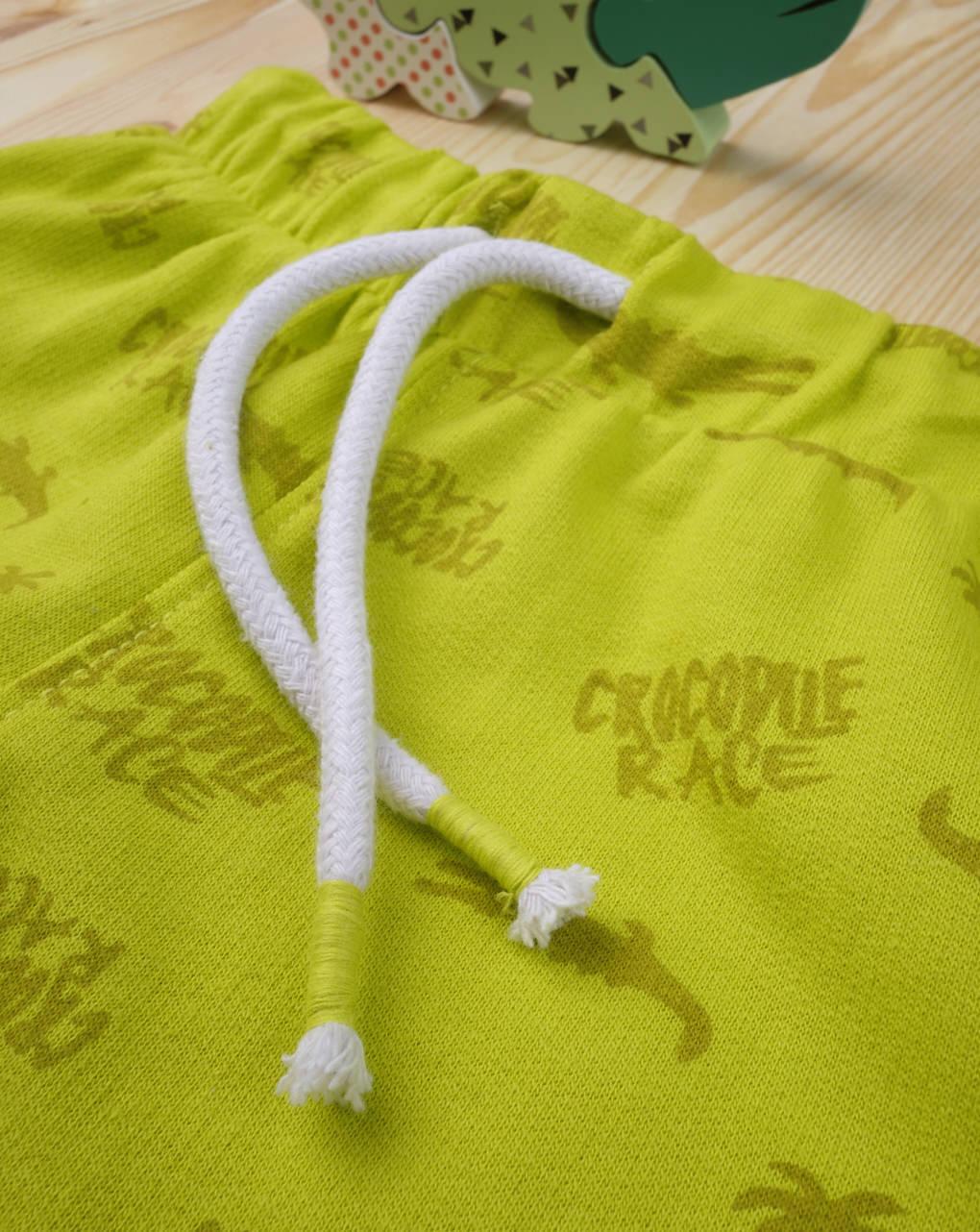 "Shorts bimbo ""giallo crocodile"" - Prénatal"