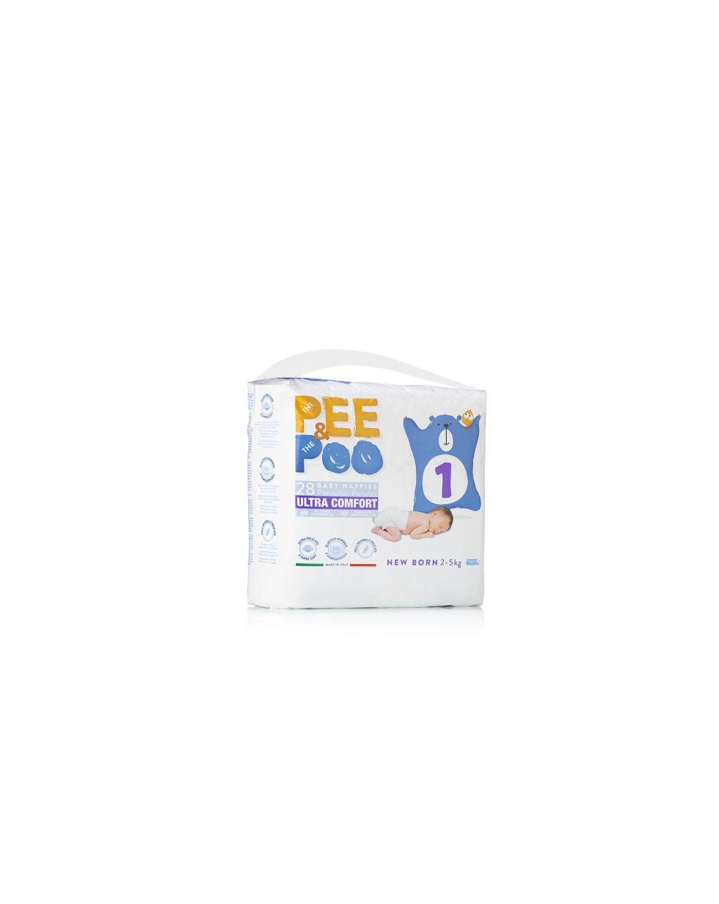 Pee&poo - new born tg 1 28 pz - The Pee & The Poo