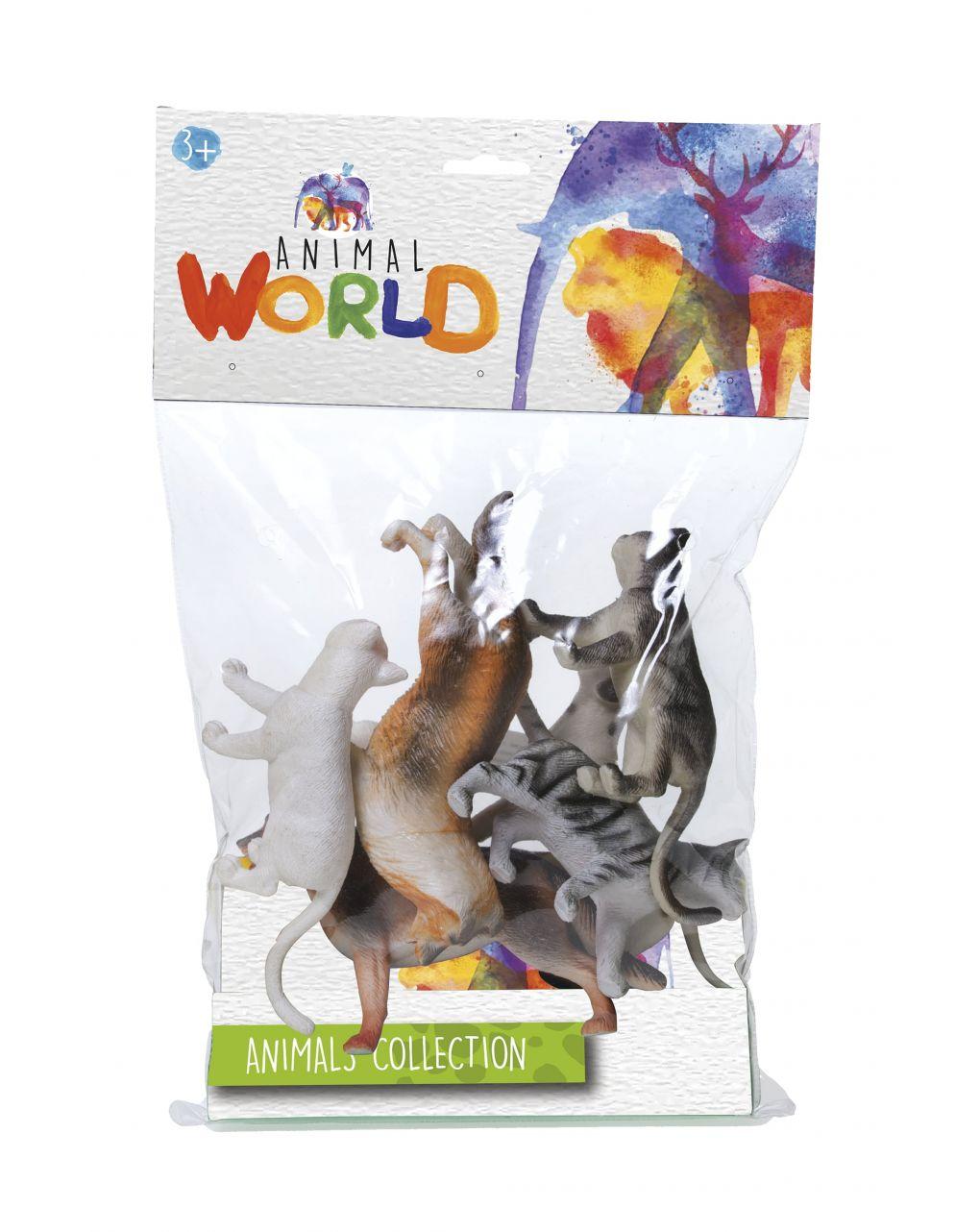 Animal world - set animali - animals collection - Animal World