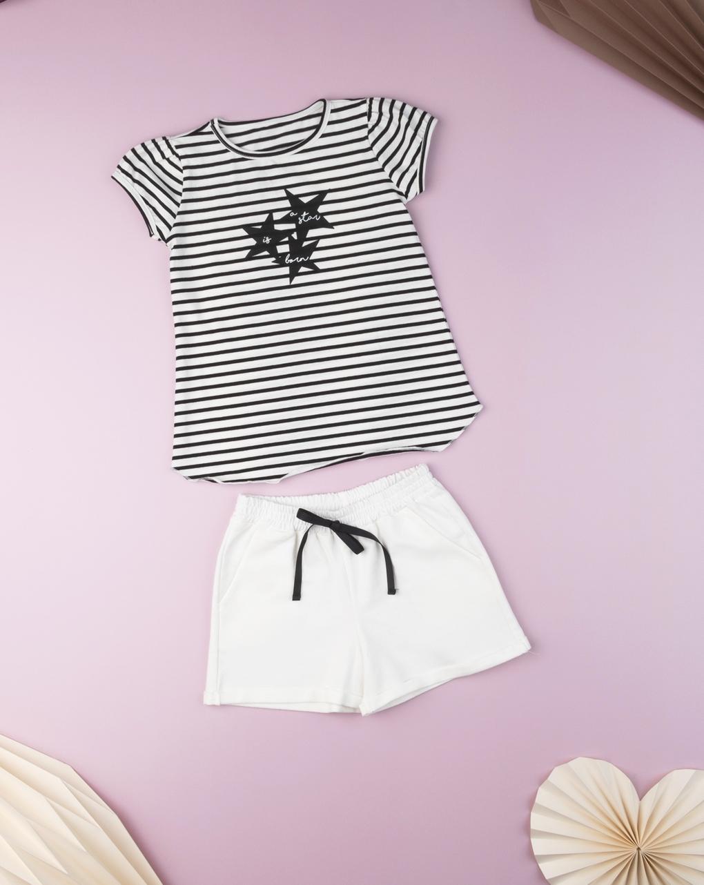 "T-shirt kid girl ""a star is born"" - Prénatal"