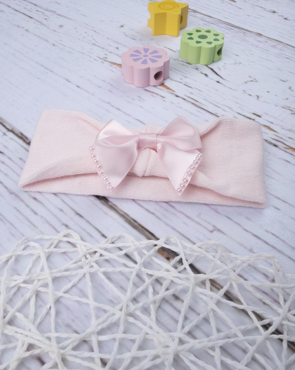 "Fascia capelli ""fiocco rosa"" - Prénatal"