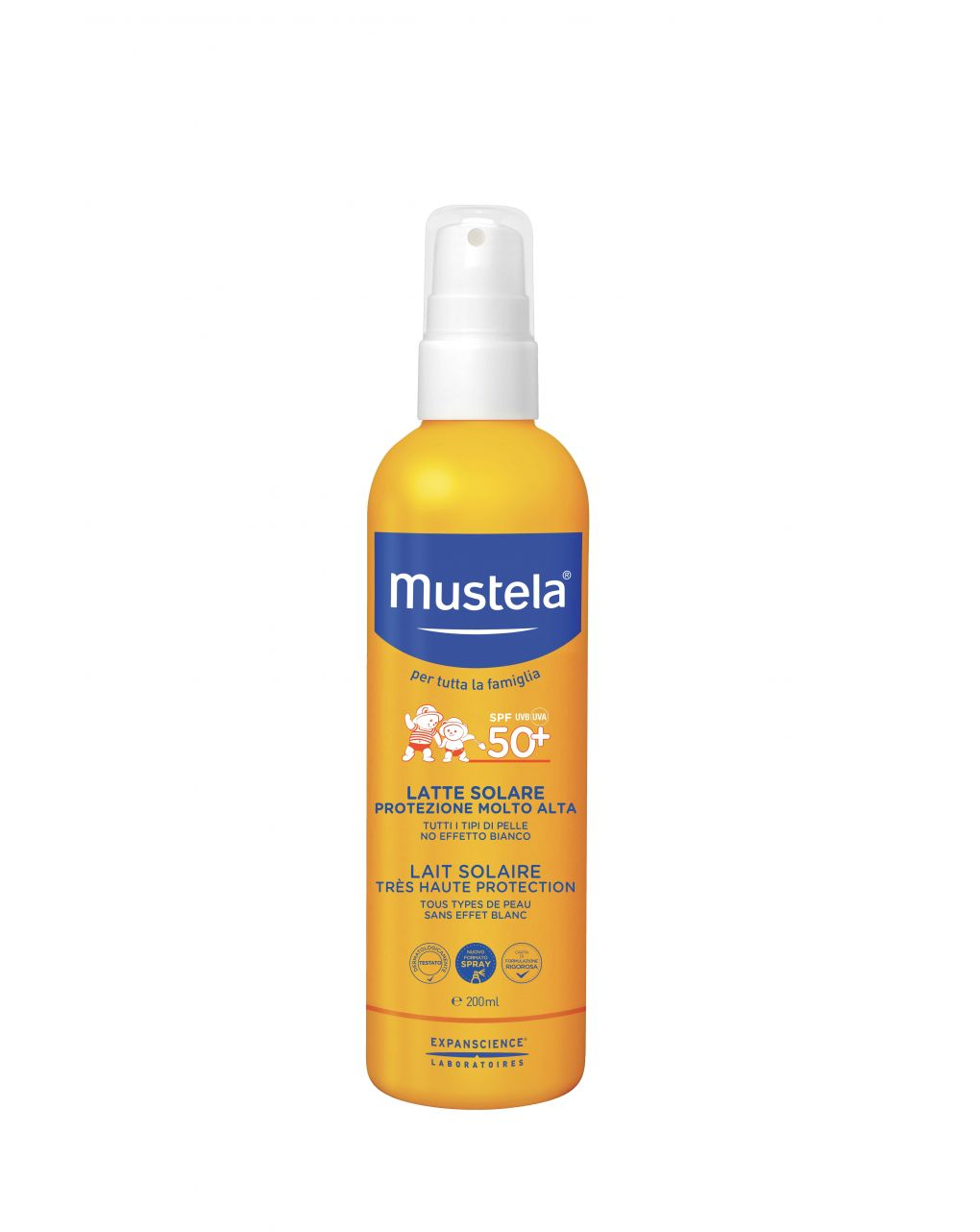 Latte solare spray 200ml - Mustela
