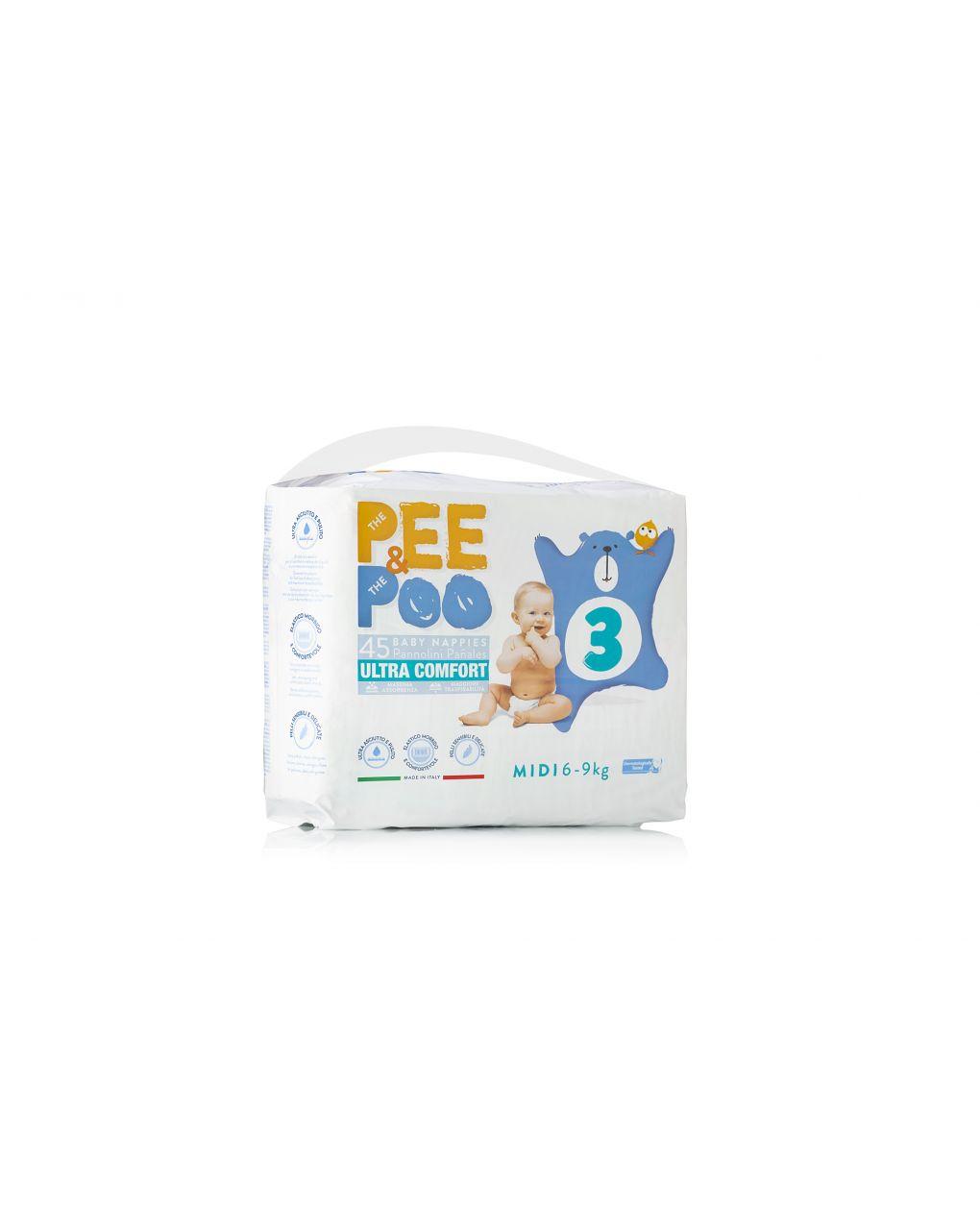 Pee&poo - midi tg 3 45 pz - The Pee & The Poo