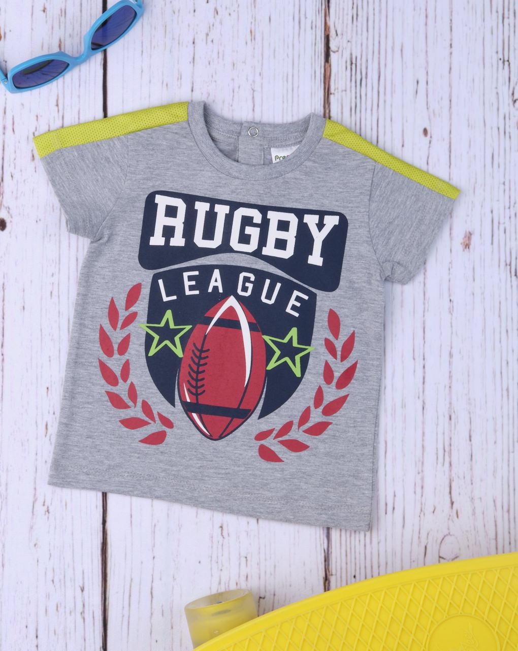 "T-shirt boy ""rugby league"" - Prénatal"