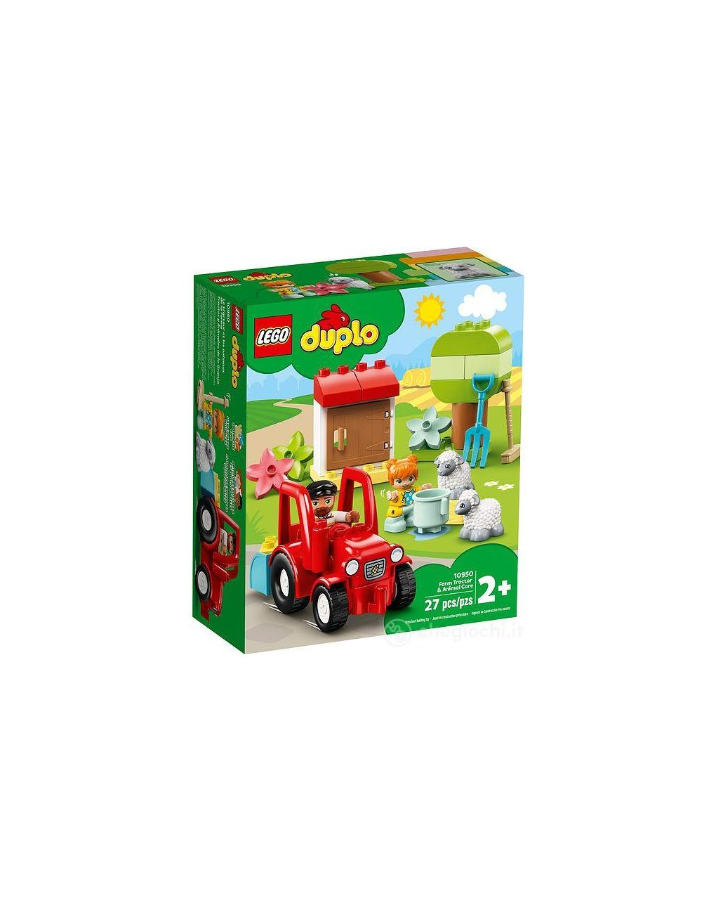 Lego duplo - il trattore della fattoria e i suoi animali - LEGO Duplo