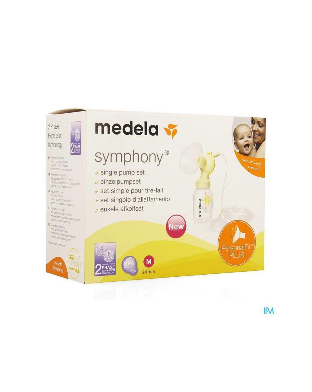 Set symphony singolo con personalfit plus (24 mm) - Medela