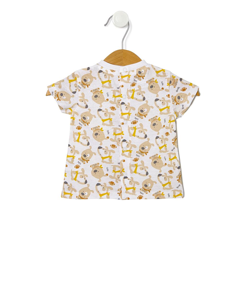 Completo 2 pezzi salopette e t-shirt - Prénatal