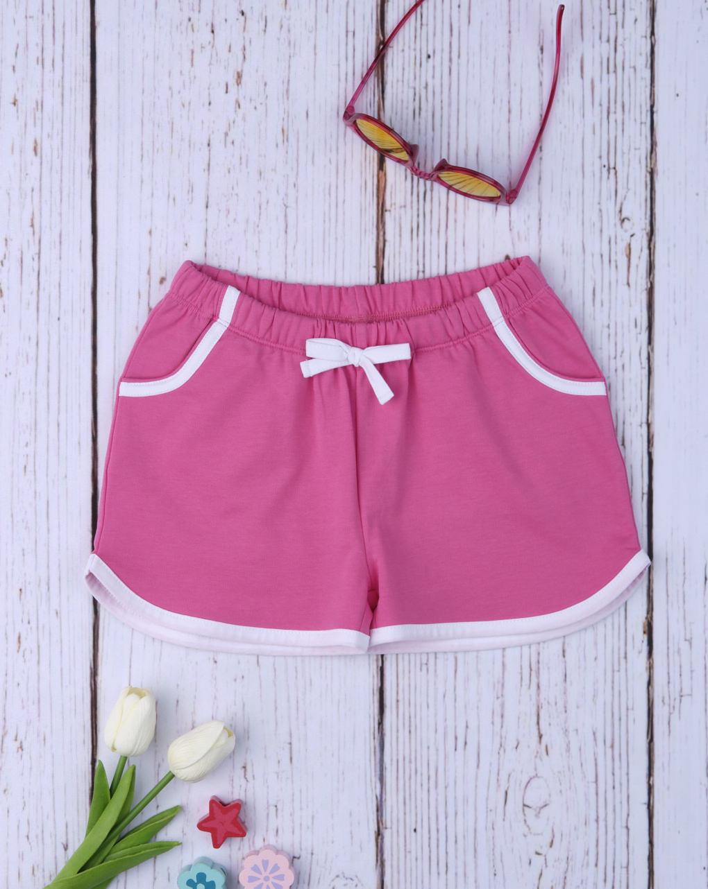 Shorts girl casual pink - Prénatal