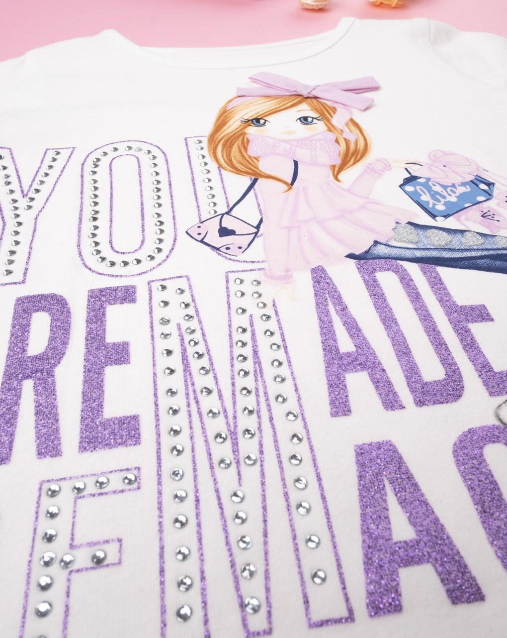 "T-shirt girl ""you are made of magic"""" - Prénatal"