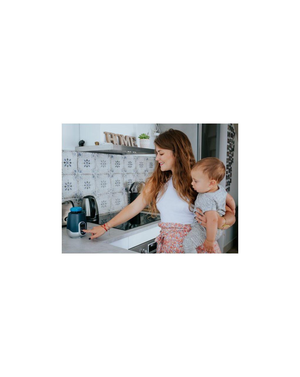 Nutrismart scaldabiberon digitale casa auto (bagnomaria/vapore) - Babymoov