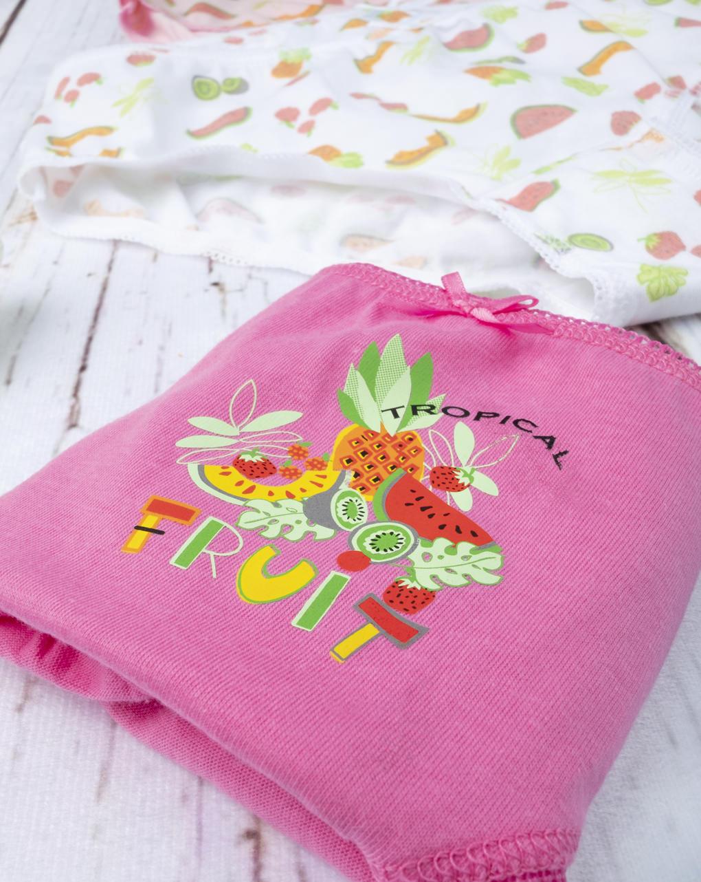 """Pack 7 slip girl """"fruit"""" - Prénatal"""