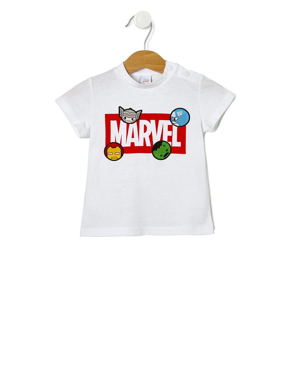 T-shirt con patch avengers - Prénatal
