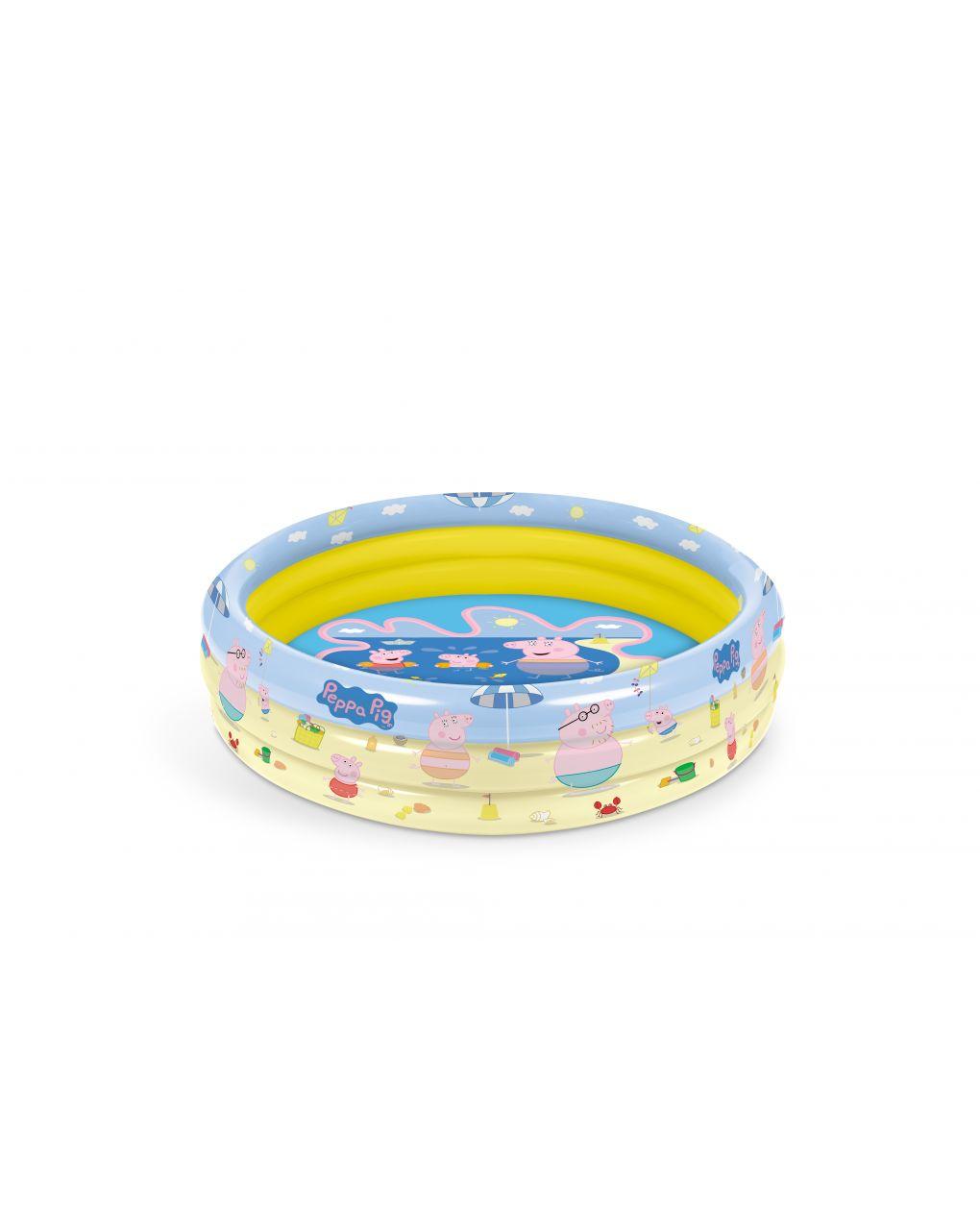 Mondo - peppa pig piscina 3 anelli d. 100 cm - Mondo