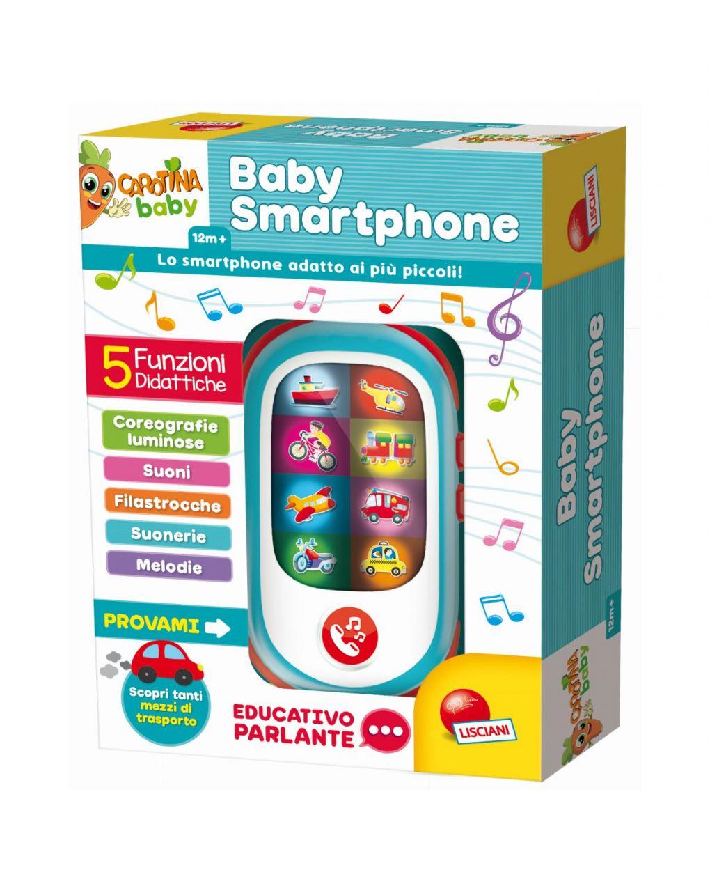 Lisciani - carotina baby smartphone - Carotina
