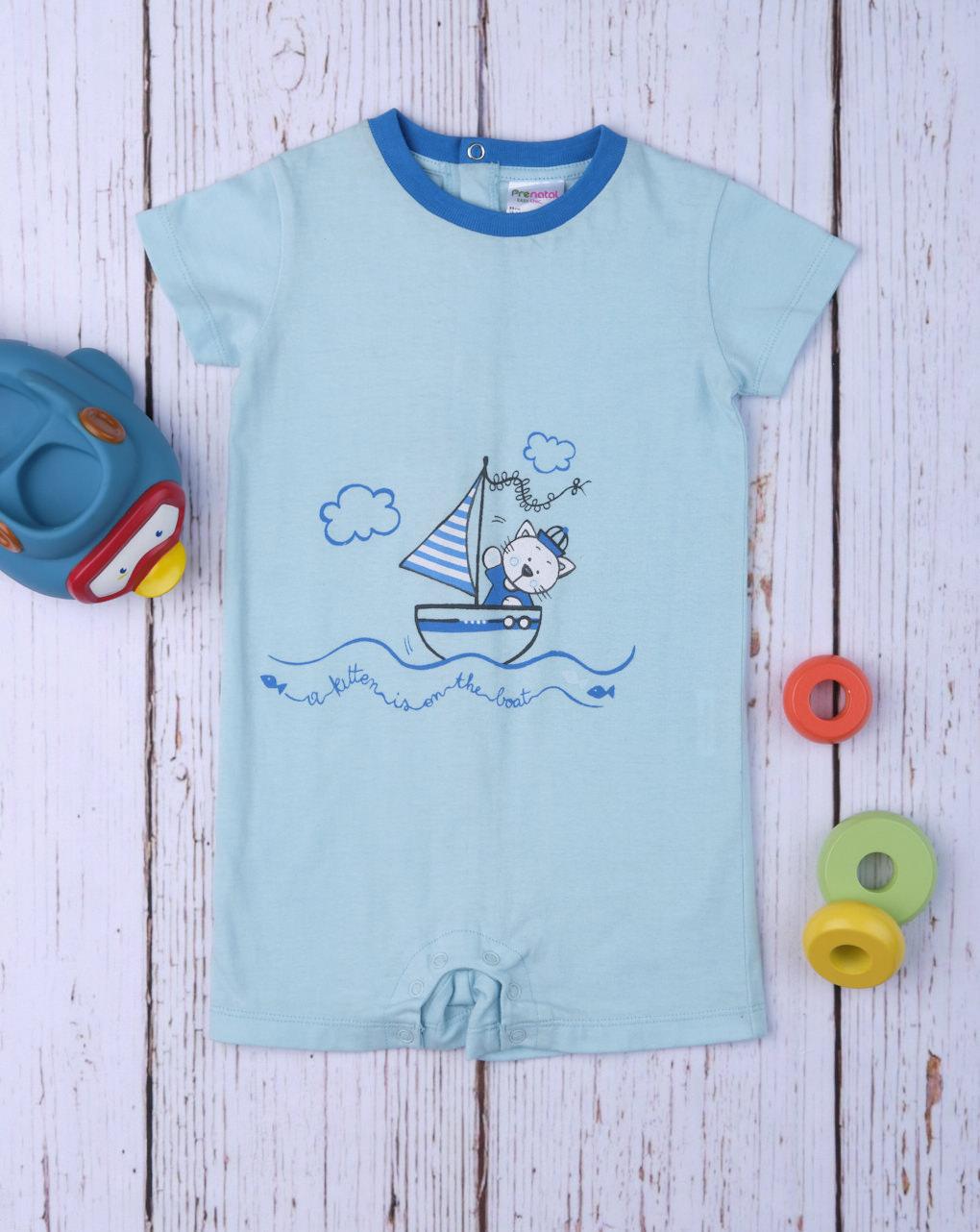 "Pack 2 pigiami bimbo ""gatto marino"" - Prénatal"