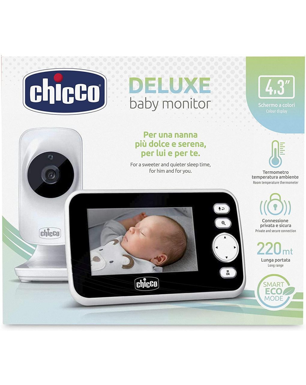 Video baby monitor deluxe - Chicco