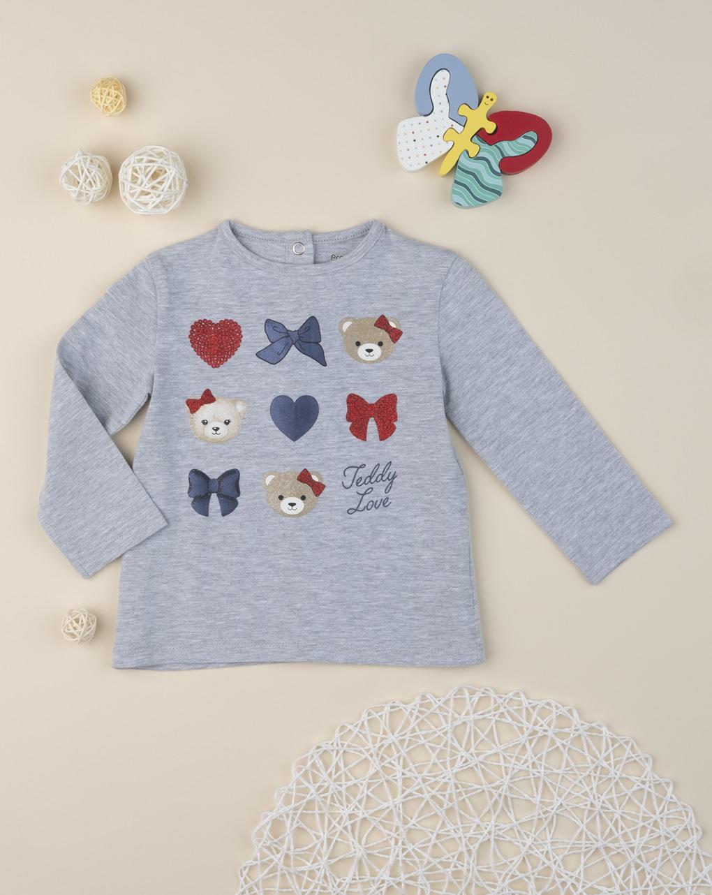 """T-shirt girl """"teddy friends"""" - Prénatal"""