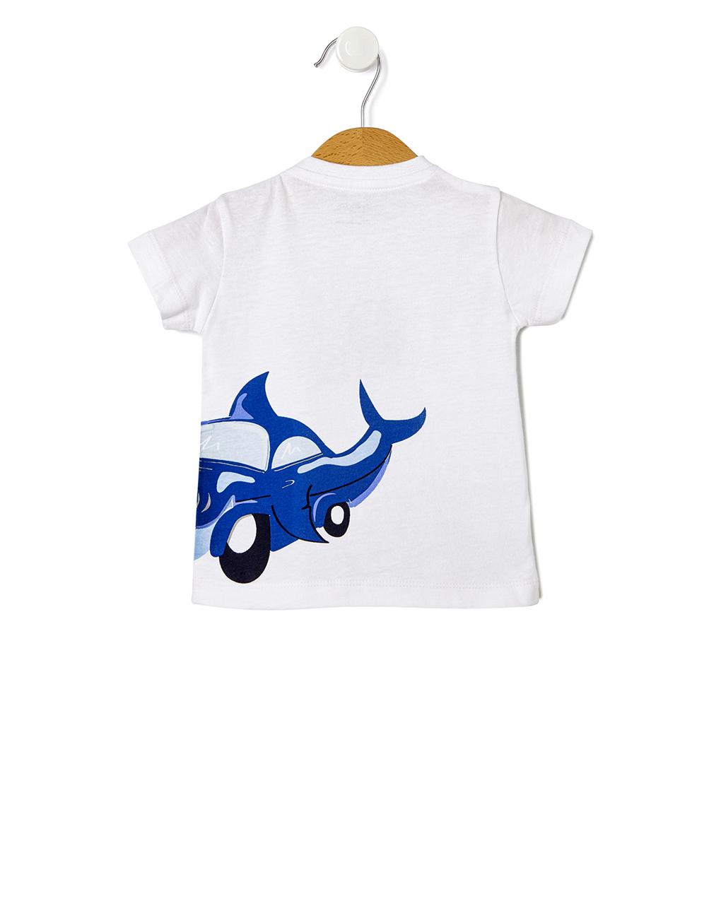 T-shirt stampa squalo - Prénatal