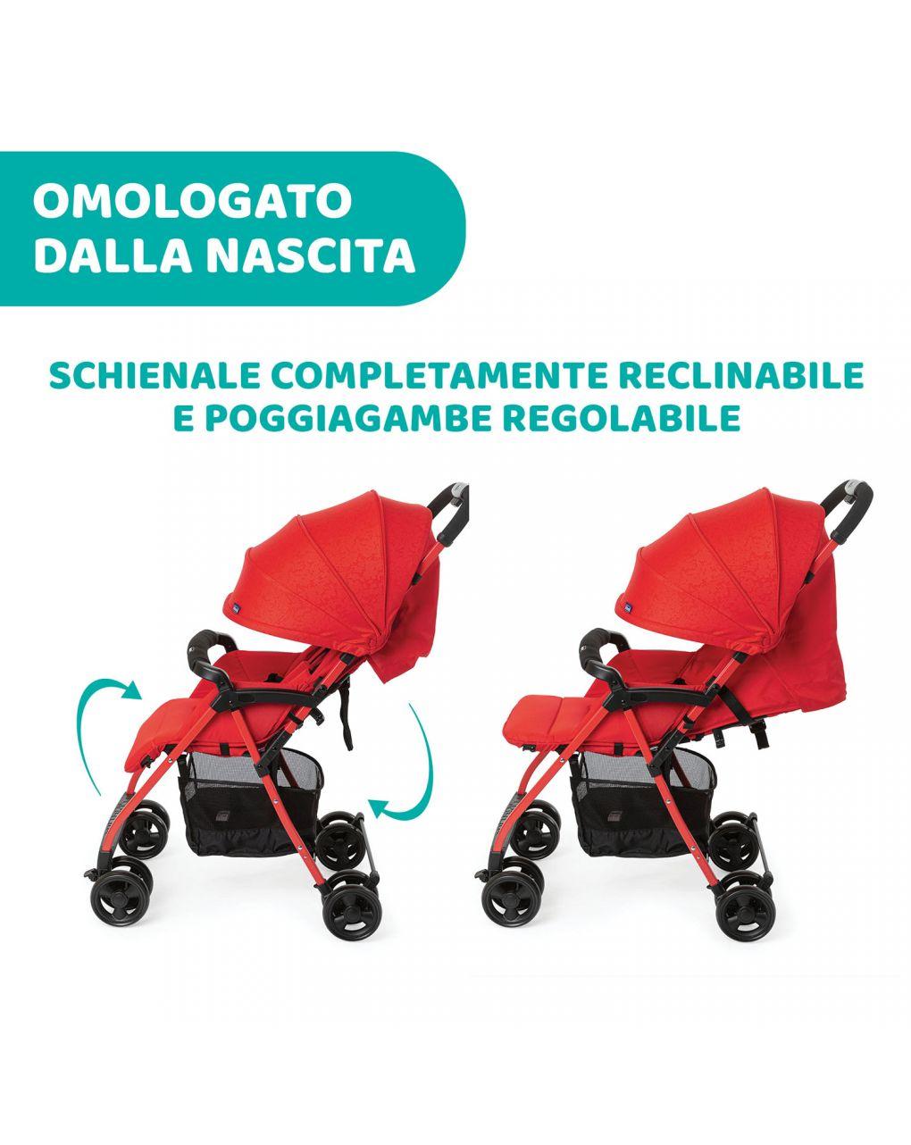 Passeggino ohlalà 3 red passion - Chicco