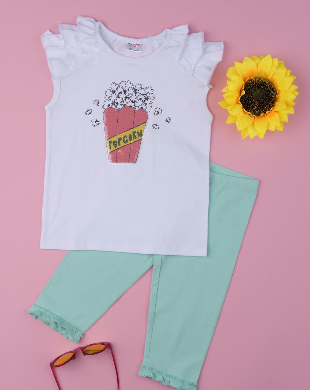 "Completo girl ""pop corn"" - Prénatal"