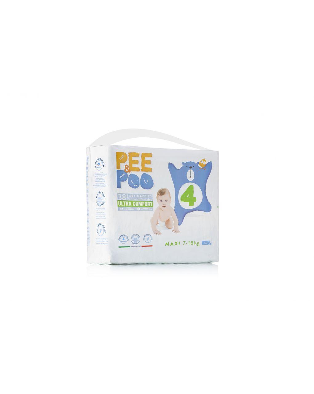 Pee&poo - maxi tg4 38 pz - The Pee & The Poo