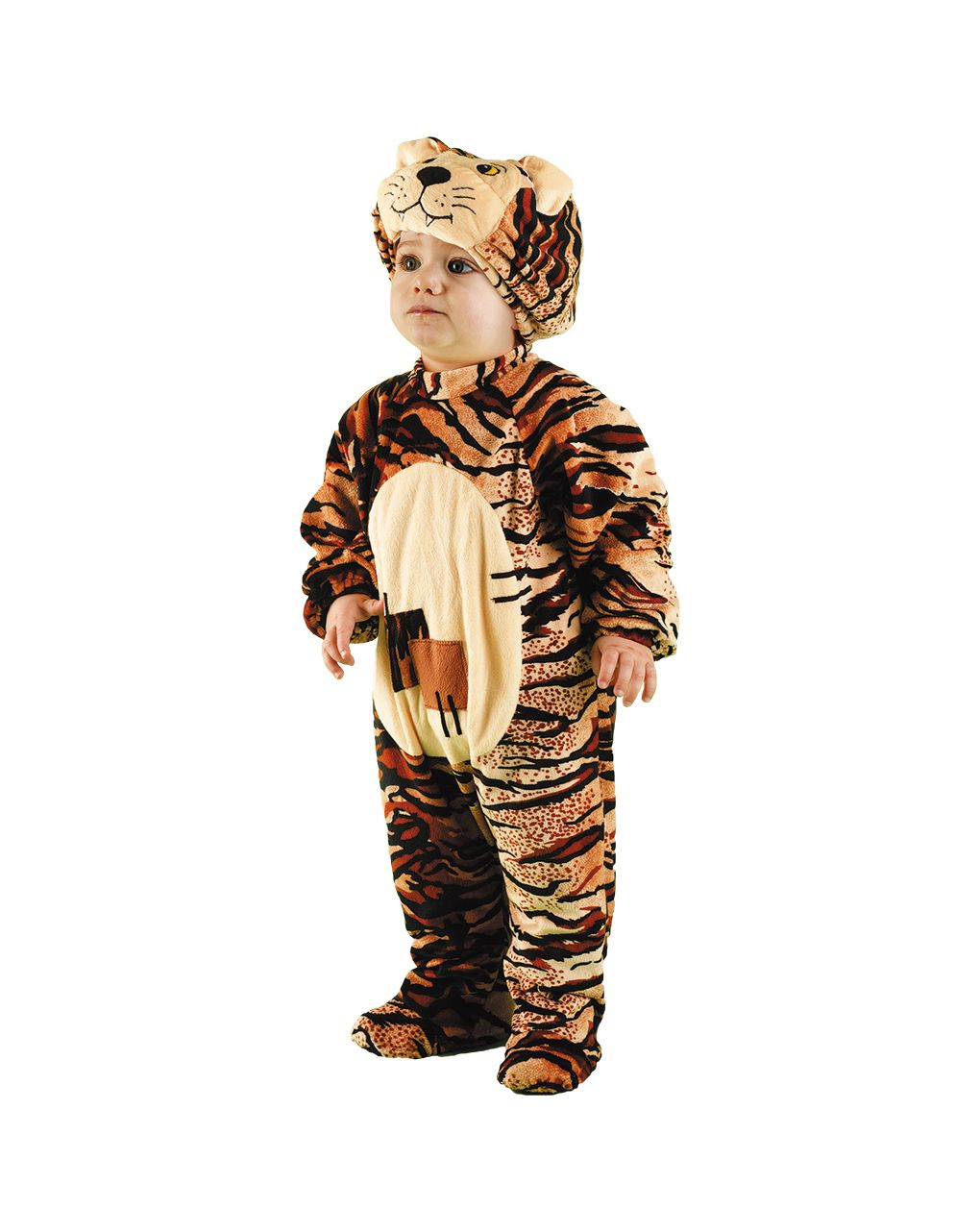 Costume tigre baby 2/3 anni - Carnaval Queen