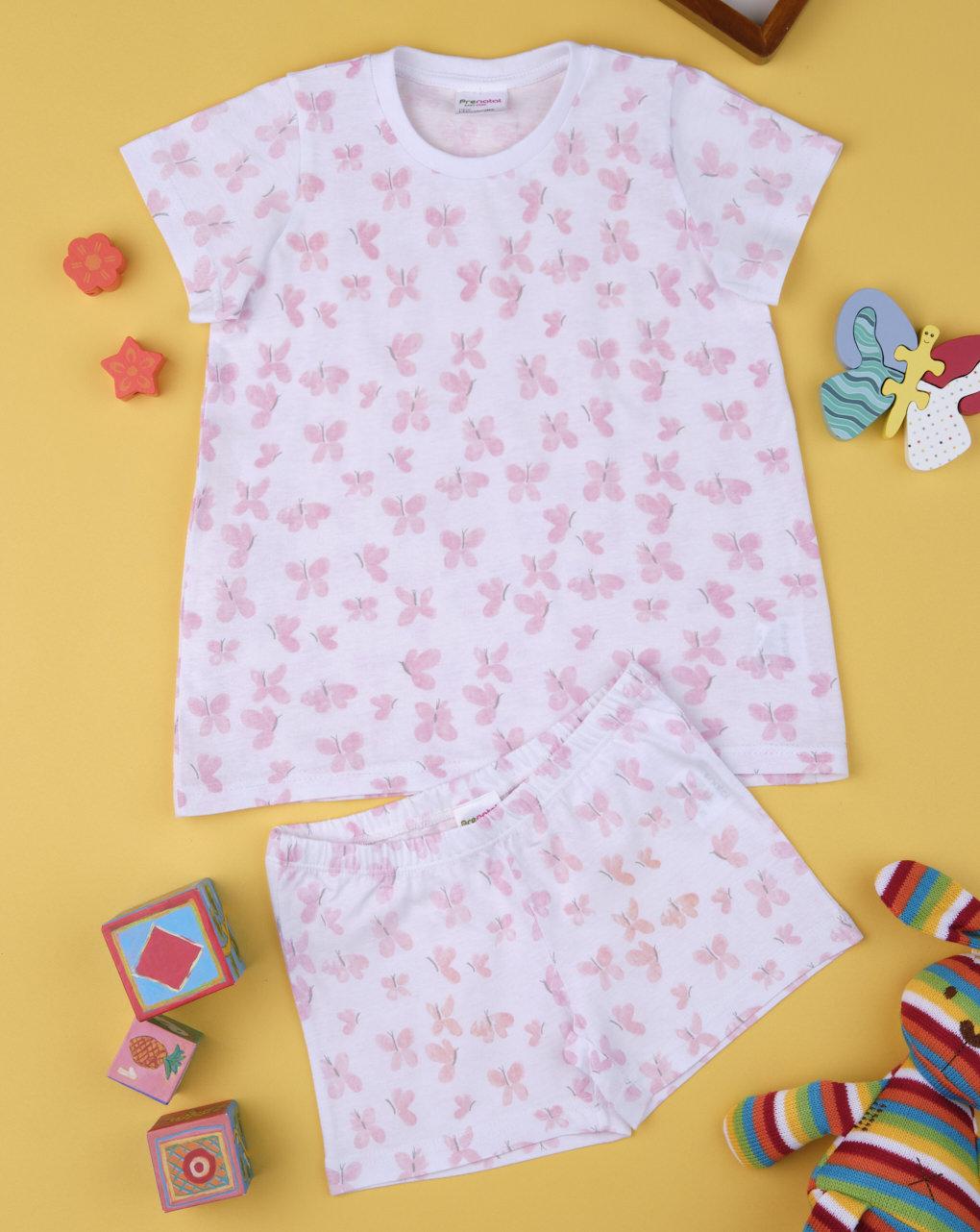 "Pack 2 pigiami bimba ""farfalla"" - Prénatal"