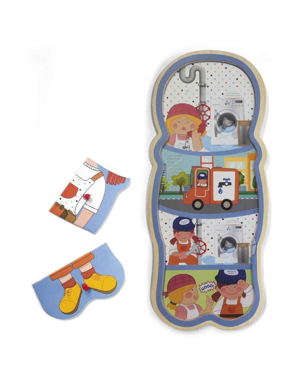 Wood'n'play - story puzzle - Wood'N'Play