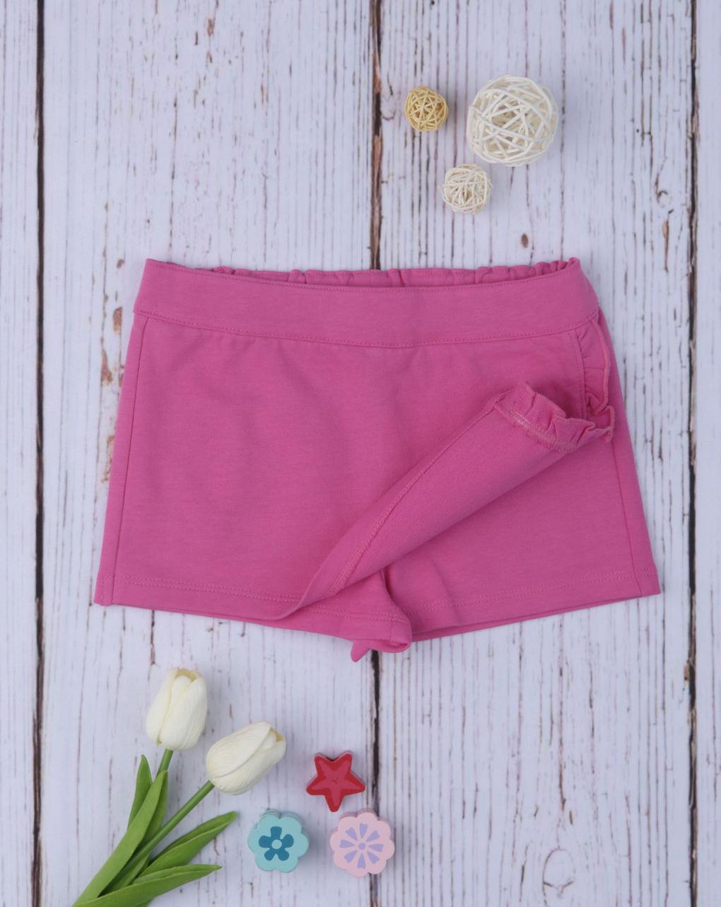 Shorts simil gonna pink - Prénatal