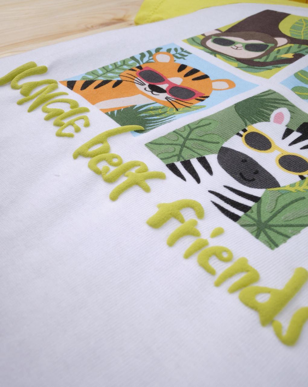 "Completo bimbo ""jungle best friends"" - Prénatal"