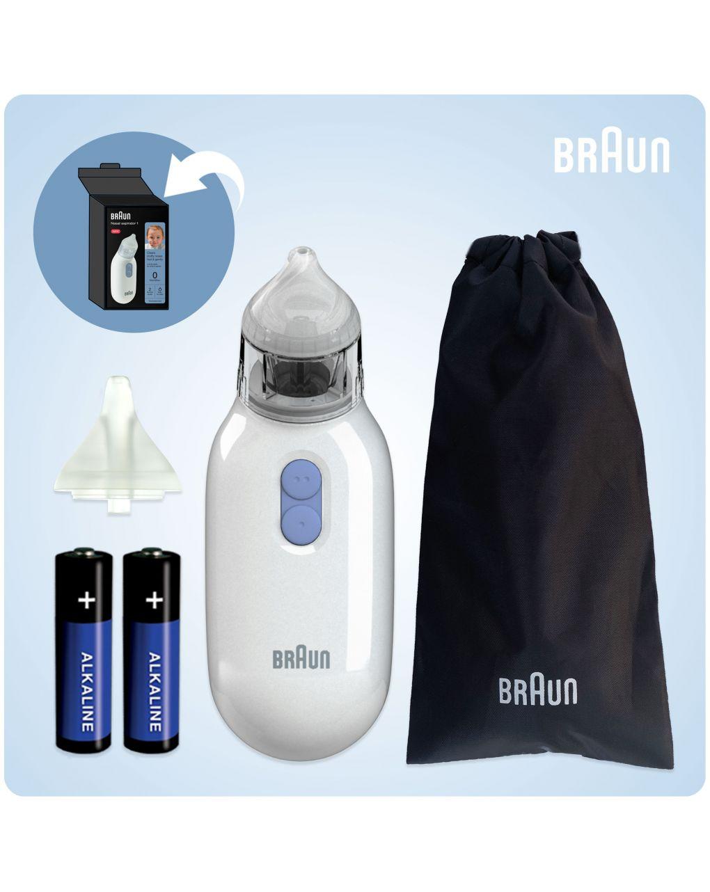 Aspiratore nasale braun - Braun