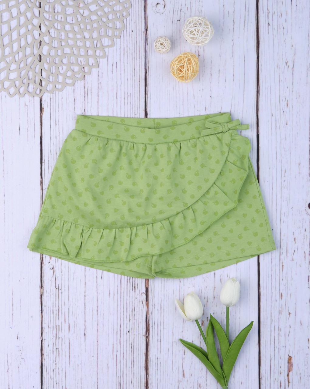 Shorts finta gonna green - Prénatal
