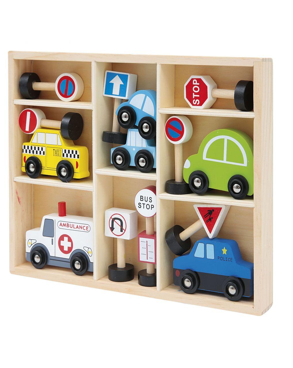 Wood'n'play - set veicoli - Wood'N'Play